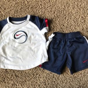 Nike baseball 18 month outfit
